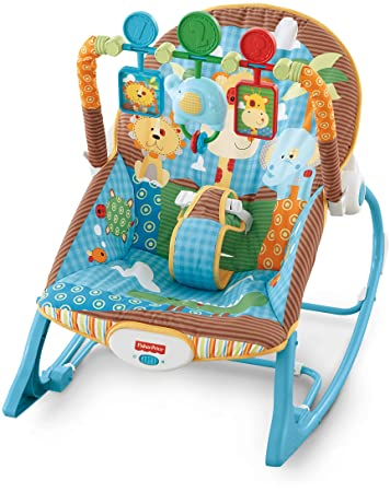 Excellent Fisher Price Infant To Toddler Rocker Jungle Fun Evergreenethics Interior Chair Design Evergreenethicsorg