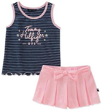 01fed9eeabad0a Amazon.com  Tommy Hilfiger Girls  Shorts Set  Clothing