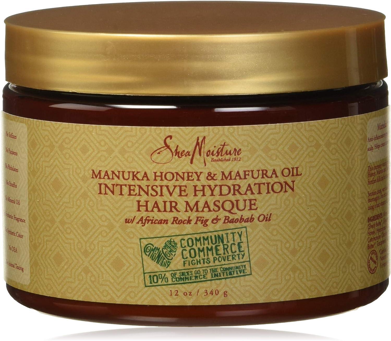 Shea Moisture, Mascarilla para el pelo (Hidratante) - 340 gr.