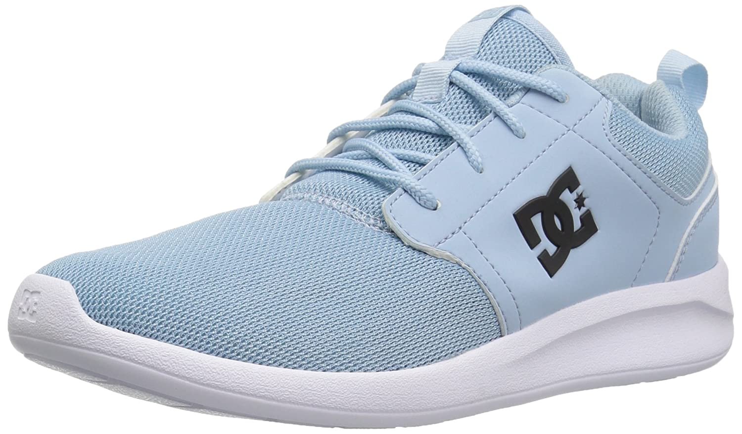 DC Women's Midway W Skate Shoe B01N6H61ZD 7.5 M US|Light Blue