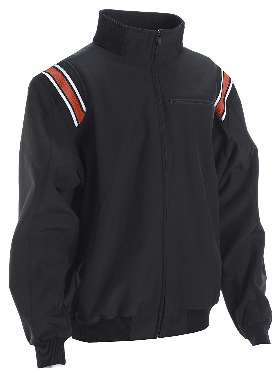 Adams USA Smitty ProスタイルCold Weather Jacket B00781RBTW 3L|ブラック/スカーレット ブラック/スカーレット 3L