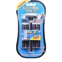 Supermax Triple Blade Razor + 10 Cartridges
