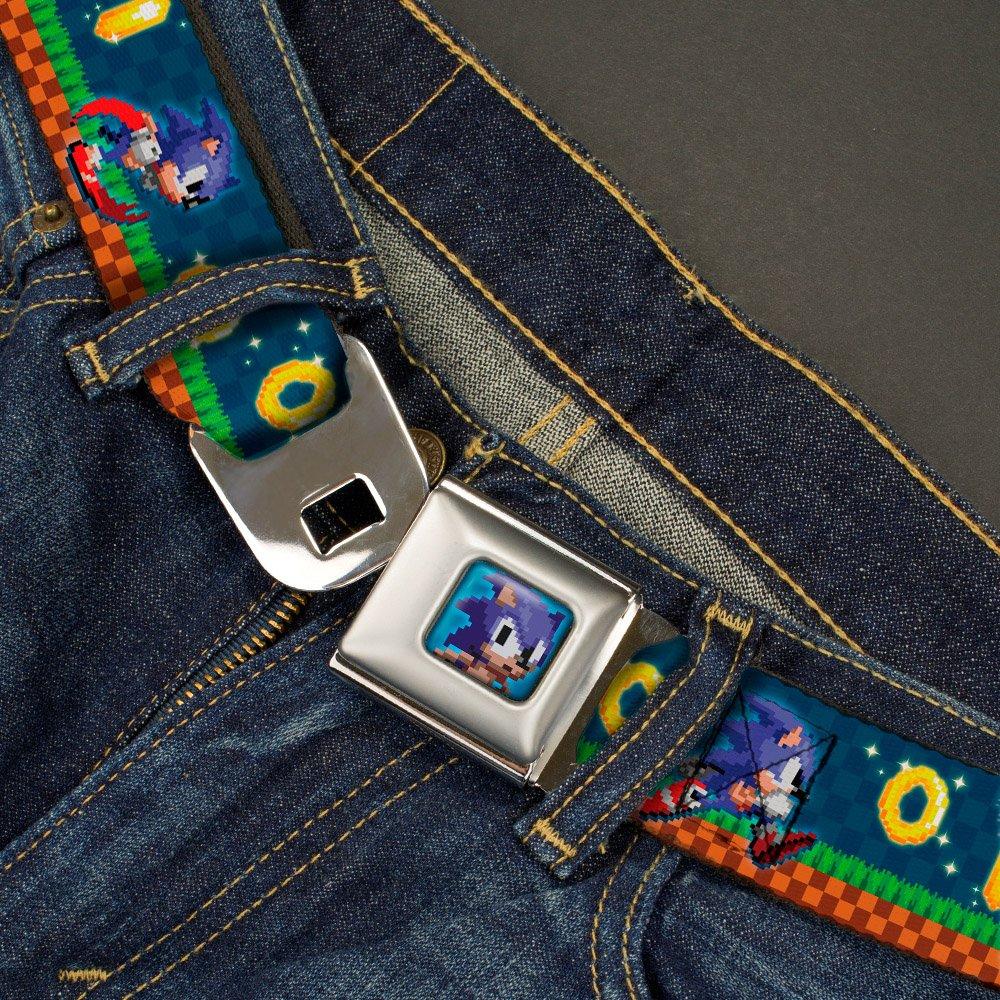 Buckle Down boys Buckle-down Seatbelt Belt Sega Sonic Regular