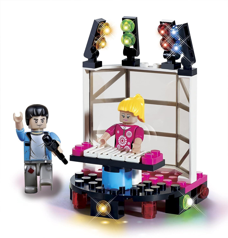 BRICTEK Childrens Imagine Keybordist Interlocking Building Brick Toy 12030