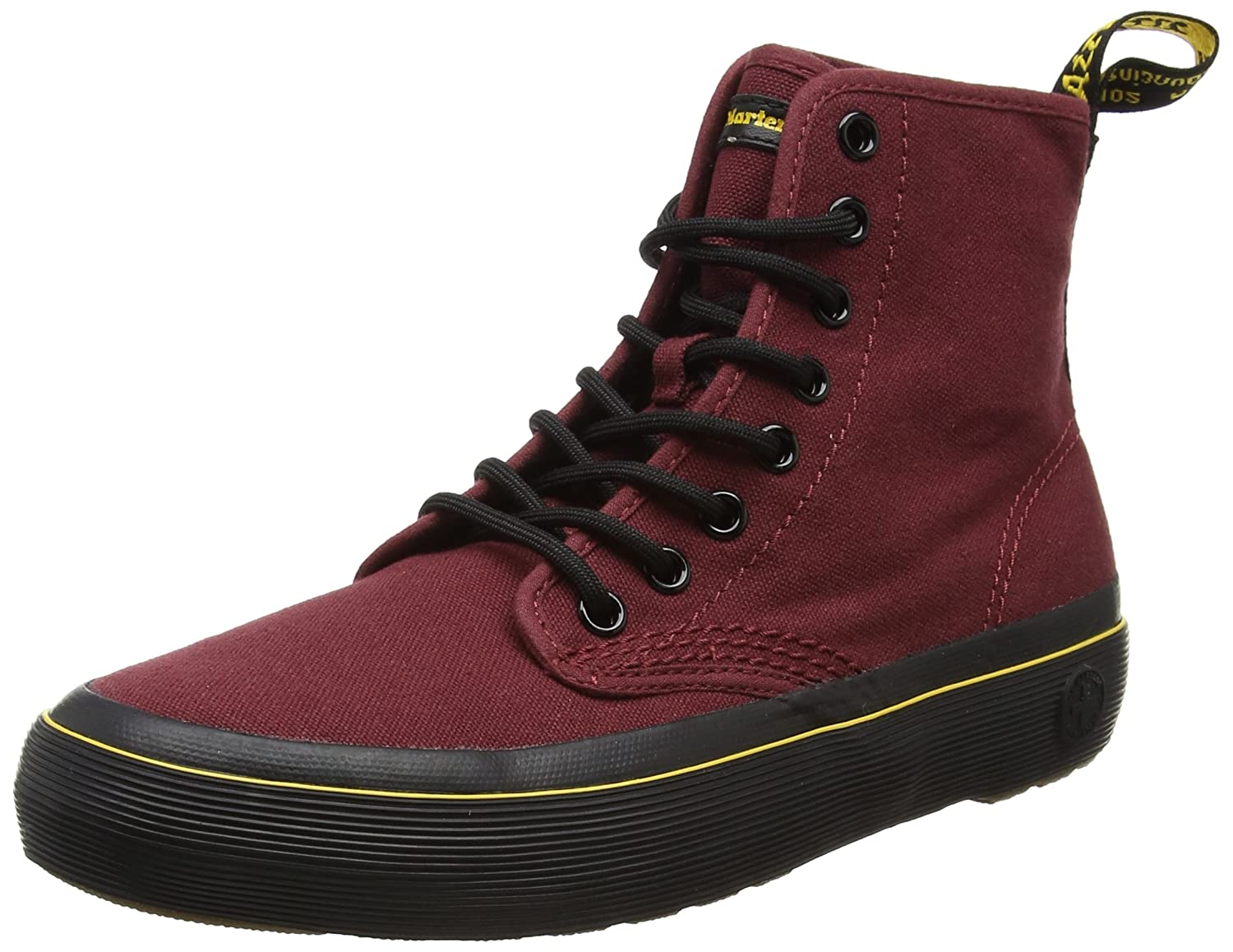 Monet Cherry Red Canvas Boot