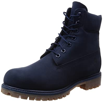 45b510feb9a Timberland Men s 6 quot  Premium Waterproof Boot Navy Monochrome ...