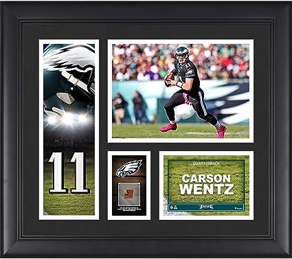 8872398d Amazon.com: Carson Wentz Philadelphia Eagles Framed 15