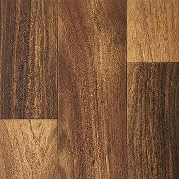 PVC-Boden Holzdielenoptik Mittelbraun mit Vliesr/ücken| Muster Platten strapazierf/ähig /& pflegeleicht Vinylboden versch rutschhemmender Fu/ßboden-Belag Fu/ßbodenheizung geeignet L/ängen robuster