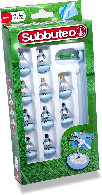 Subbuteo 3405 - Juego de Jugadores, Color Azul y Blanco: Amazon.es ...