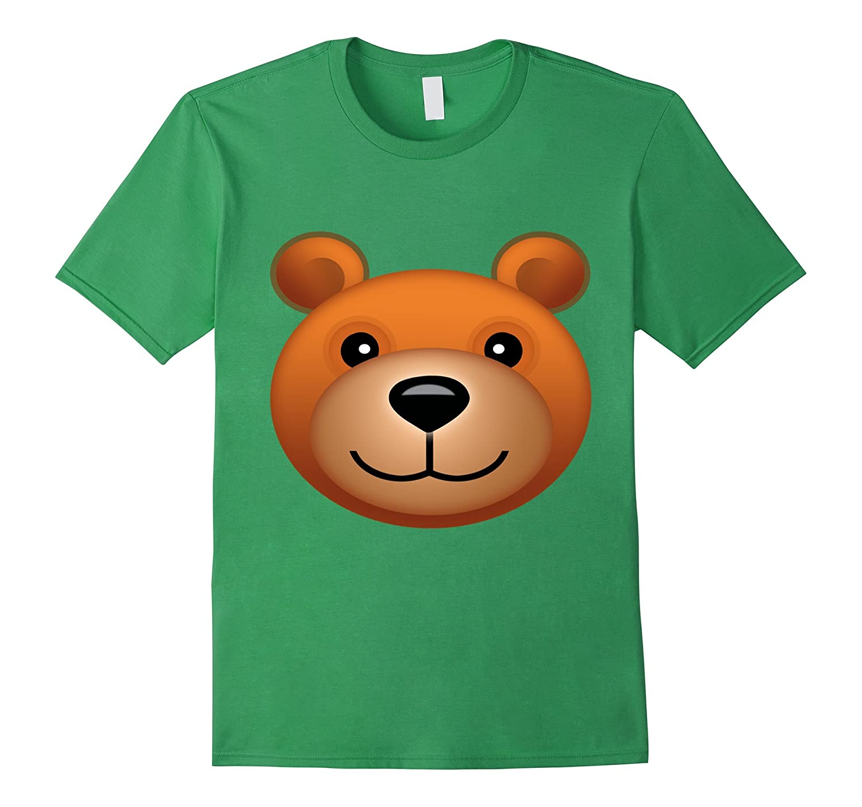 teddy bear emoji halloween costume bear face emoji anz anztshirt