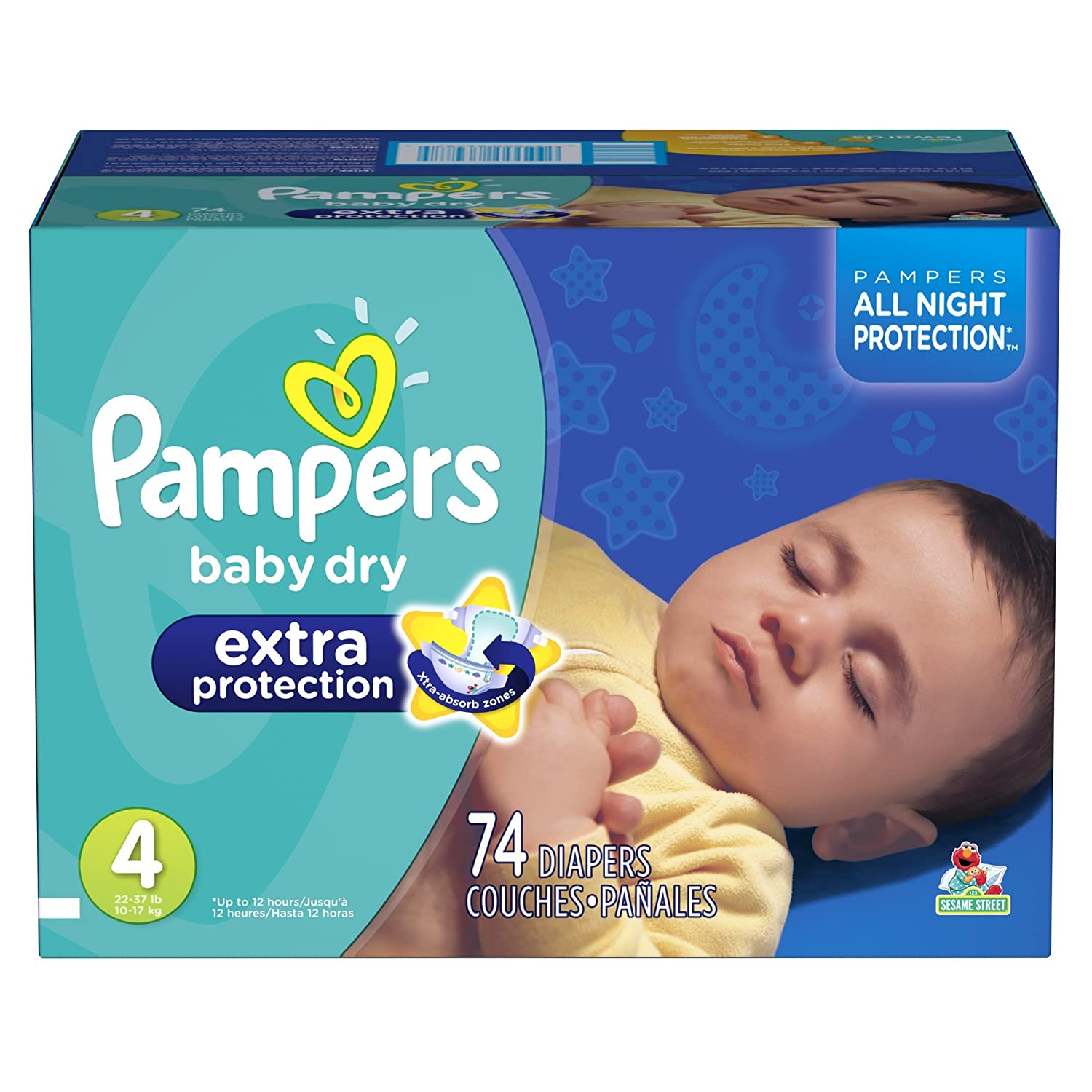 Pampers Baby Dry Extra Protection Diapers Super Pack