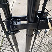 Amazon Com Chain Link Fence Commercial Strong Arm Double