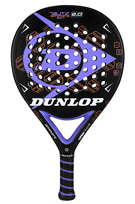 Amazon.com : Dunlop Blitz Graphite Soft 2.0 Pop Tennis/Padel ...