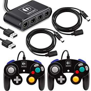 Amazon.com: DACCKIT Juego de accesorios para Gamecube ...