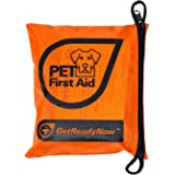 GETREADYNOW Pet Emergency Survival Kit I Essential First Aid + Deluxe Supplies To Keep Your Four-Legged Friend Safe While on the Road, Camping, Hiking, or Unexpected Dog Park Emergencies