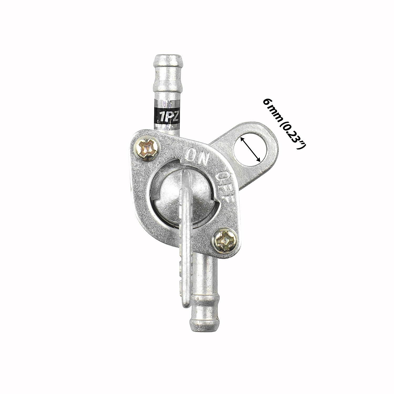 Pro Braking PBR7120-GLD-GOL Rear Braided Brake Line Gold Hose /& Stainless Gold Banjos