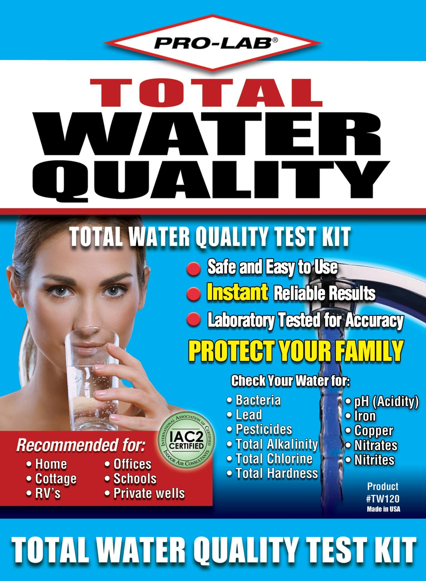 ProLab TW120 Pro-Lab Total Water Quality Kit by ProLab