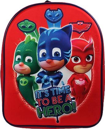 PJ Masks Backpack Mochila infantil, 32 cm, 83 liters, Rojo (Red)