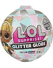 L.O.L. Surprise! 561613 L.O.L. Surprise Globe Doll Winter Disco Series with Glitter Hair, Multi