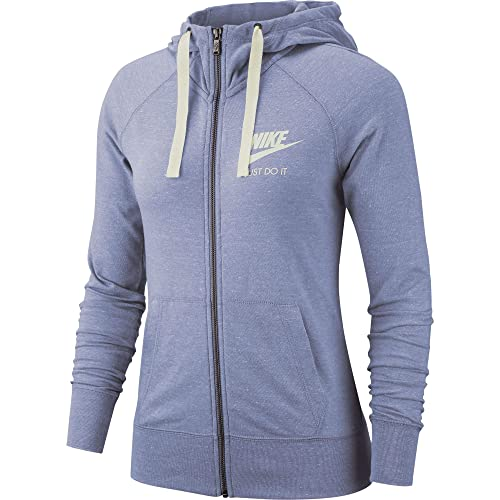 92b0edf2f221 Image Unavailable. Image not available for. Color  Nike Women s Sportswear  Gym Vintage Full-Zip Hoodie ...