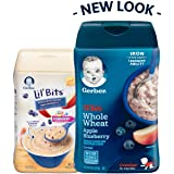 Gerber Lil Bits Whole Wheat Apple Blueberry Baby