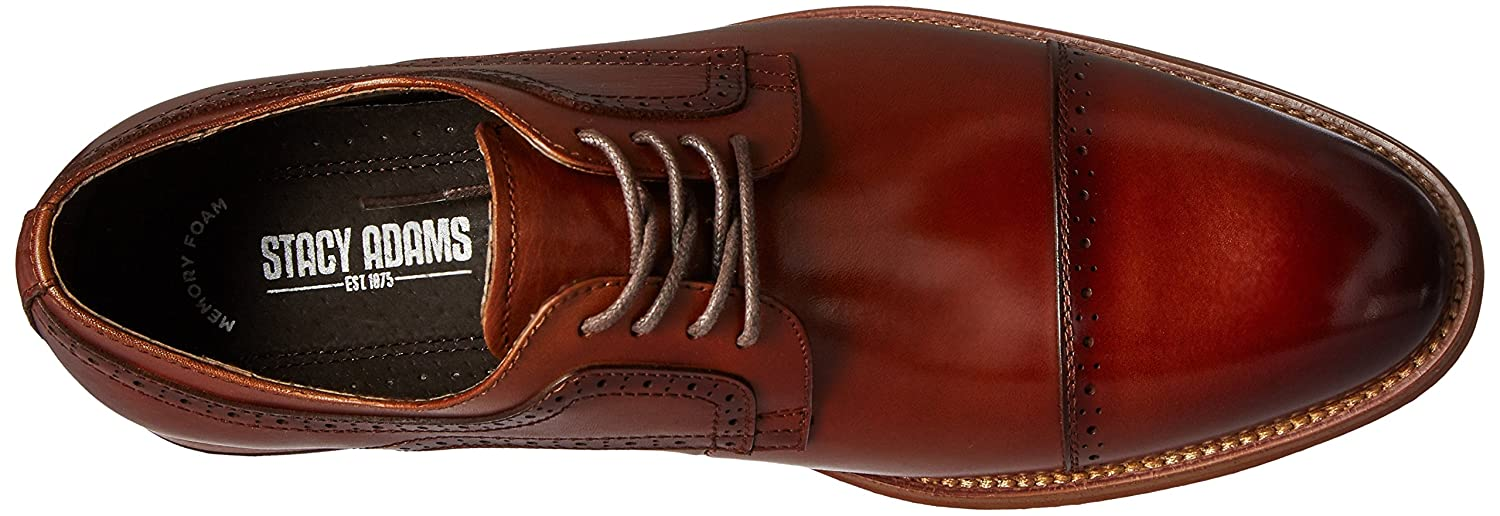 546f31dce5546 Stacy Adams Men  s Dickinson Cap Toe Oxford  Amazon.co.uk  Shoes   Bags