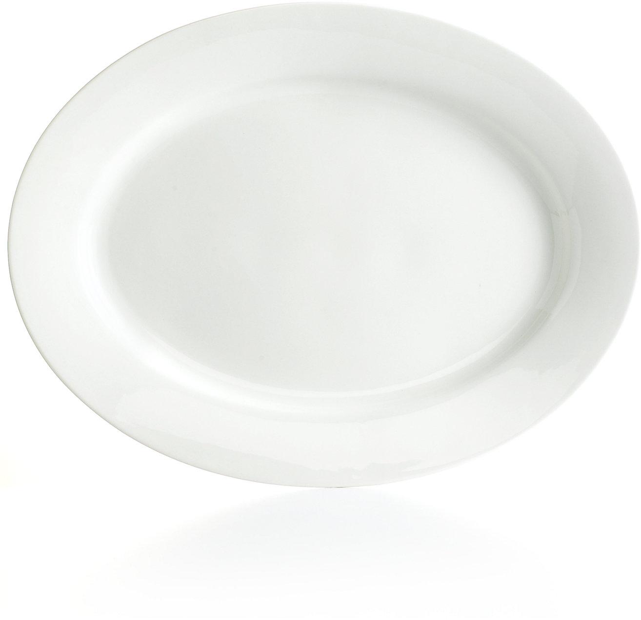 Martha Stewart Collection Whiteware Oval Platter - Serveware - Dining & Entertaining - Macy's