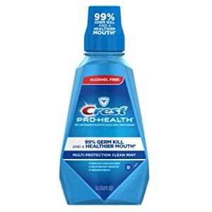 Crest ProHealth MultiProtection Refreshing Mouthwash Clean Mint (Packaging May Vary)