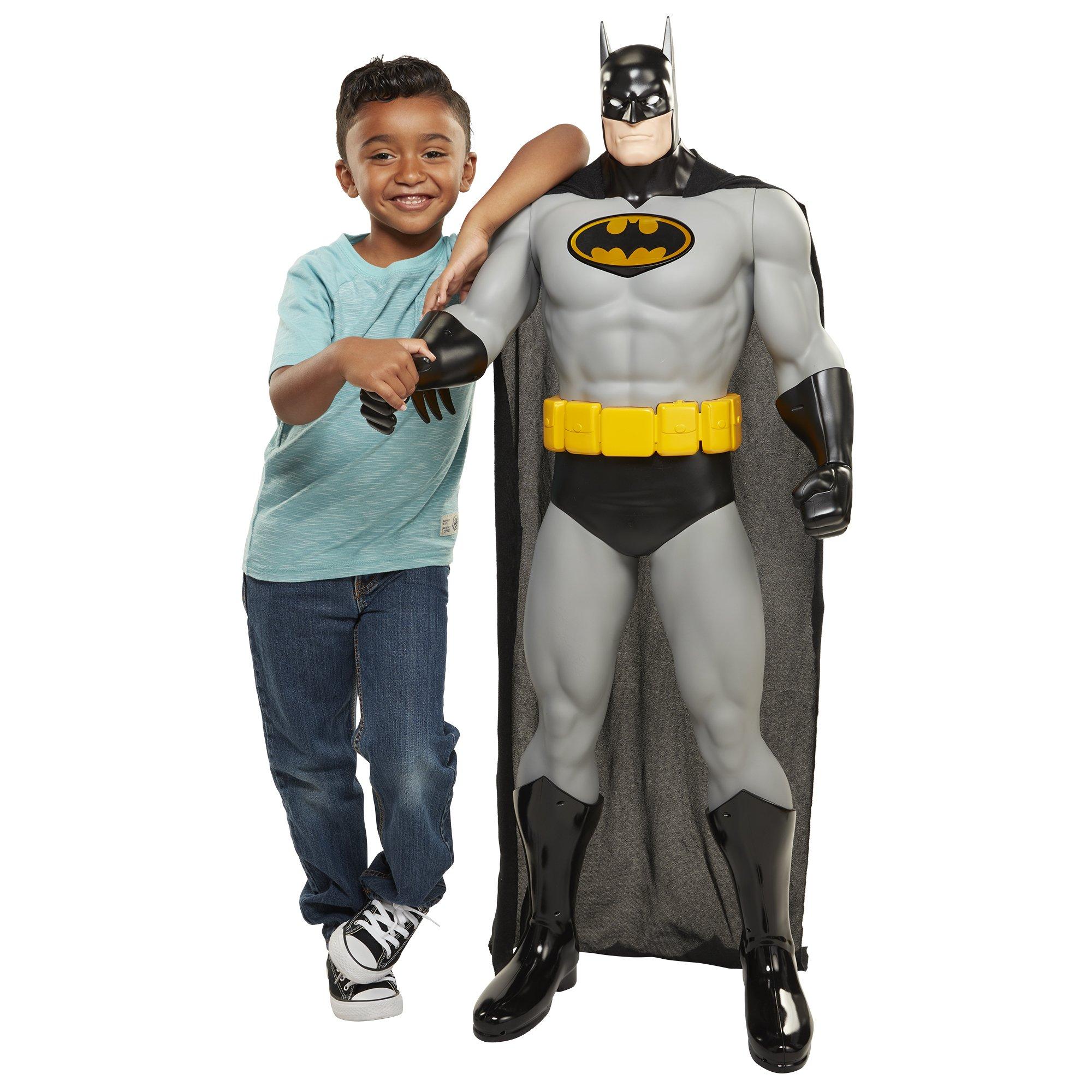 DC Universe 48-Inch Gotham City Guardian with Bat-Signal Light, Batman Action Figure