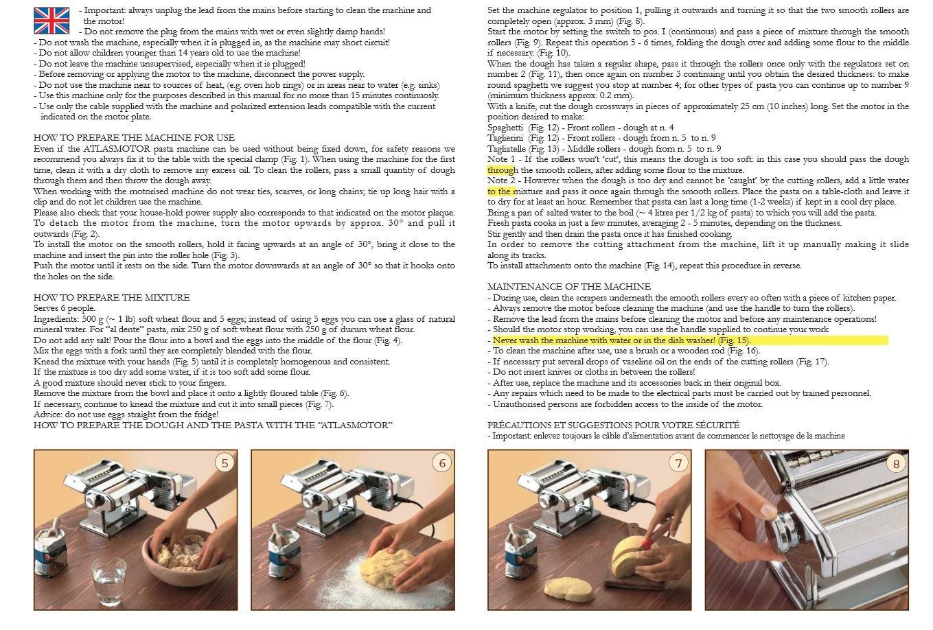 Marcato Atlas Pasta Machine Electric Motor Attachment by Marcato