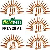 Florabest Lot de 100lames de rechange pour coupe-bordures sans fil Florabest LIDL FRTA 20A1Lidl IAN 282232
