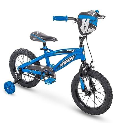 Amazon Com Huffy Moto X Boys Bike Training Wheels 12 14 16