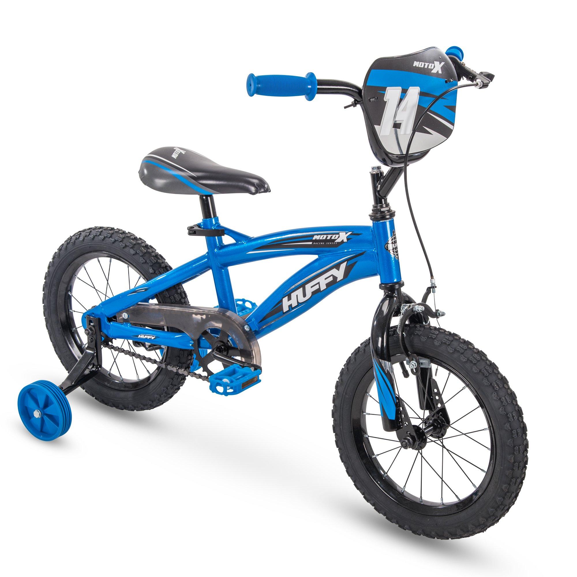 Huffy Moto X Boys Bike Training Wheels & 12'', 14'', 16'', 18'' Wheel Sizes