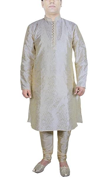 Camisa vintage pijama color beige manga larga seda vestidos wedding hombre