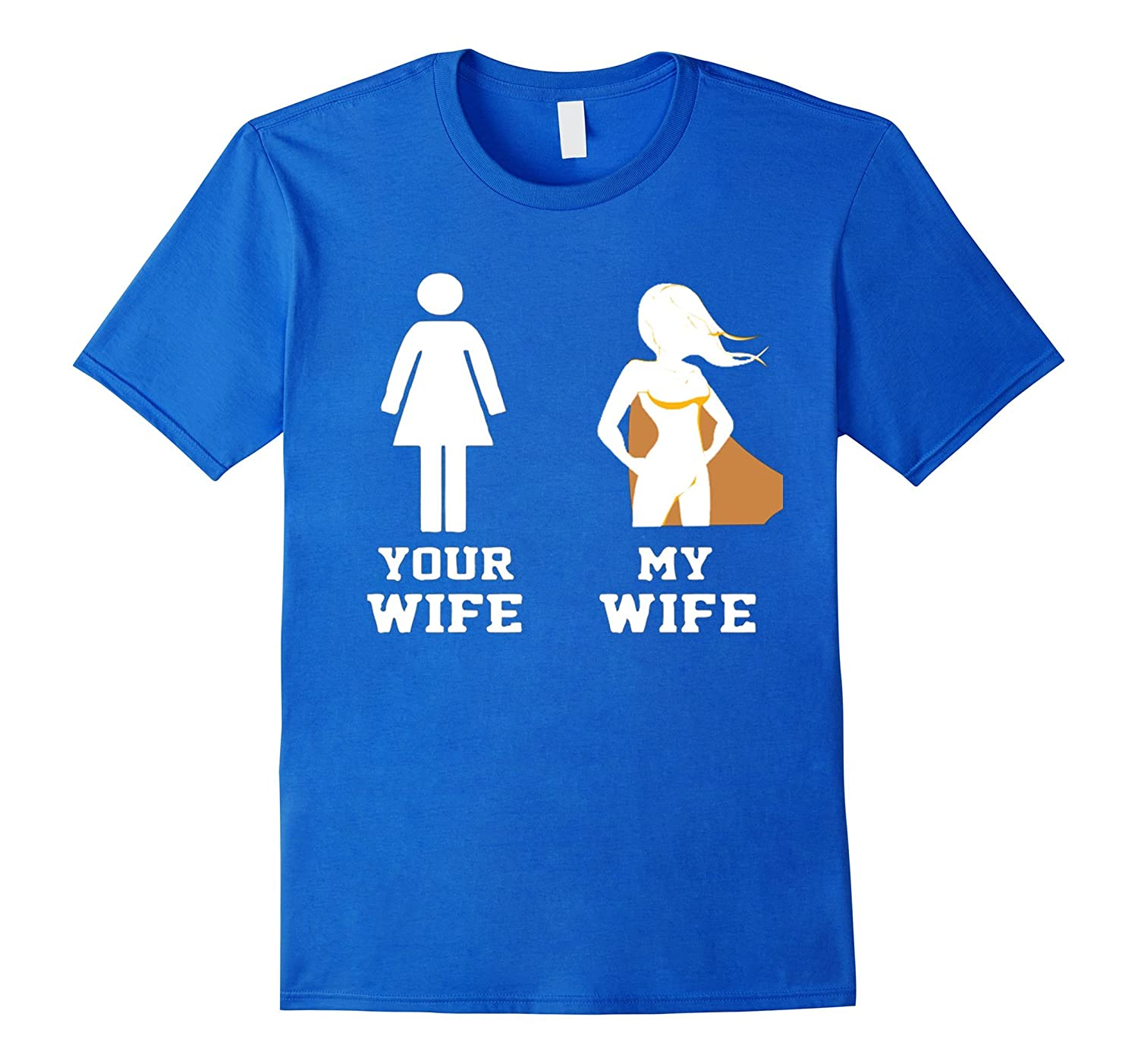Your wifi my wife T-shirt - Your wife my wife shirt-Vaci