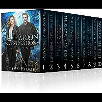 Blue Moon Investigations Ten Book Bundle: A Humorous Fantasy Adventure Series (Blue Moon Investigations - The Big Boxed…