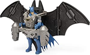 BATMAN, 4-Inch Mega Gear Deluxe Action Figure with Transforming Armor