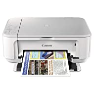 Canon PIXMA MG3620 Wireless All-In-One Color Inkjet Printer with Mobile and Tablet Printing, White