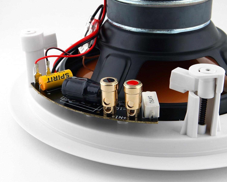 Micca M-8C Blanco altavoz - Altavoces (De 2 vías, 2.0 canales, 40-22000 Hz, 8 Ω, Blanco): Amazon.es: Electrónica