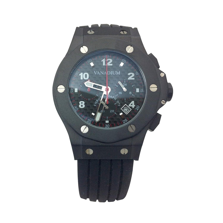 Uhr Vanadium Ritter schwarz