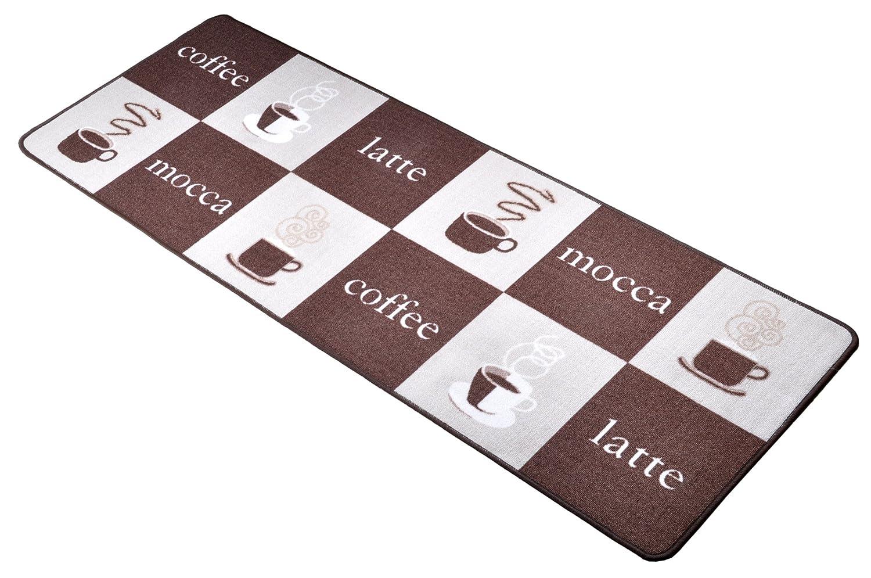 Amazon.de: HANSE Home 101378 Küchenläufer Loop/Coffee Design/80 x ...