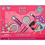 Luna Star Naturals Klee Kids 4 PC Makeup Up Kits with Compacts (Lollipop Star)