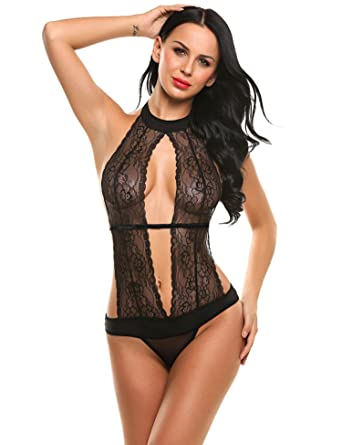 cdef58458d Image Unavailable. Image not available for. Color  Corgy Open Bra Cupless  Crotchless Lesbian Teddies Lingerie ...
