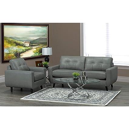 Stupendous Amazon Com Overstock Gracie Mid Century Modern Grey Top Creativecarmelina Interior Chair Design Creativecarmelinacom