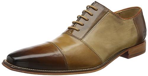 Melvin & Hamilton Oswald 2, Zapatos de Cordones Oxford para Hombre, Multicolor (Crust/Wood/Sand/Tortora/Nude/Tan/LS Nat.), 42 EU