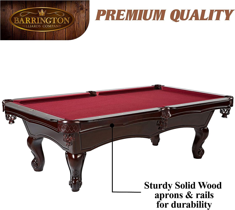 Barrington - Juego de mesa de billar - BLL100_047B, 254 cm: Amazon ...