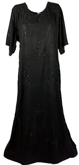 Guru-Shop - Vestito - Donna nero 40  Amazon.it  Abbigliamento 5481940fa59