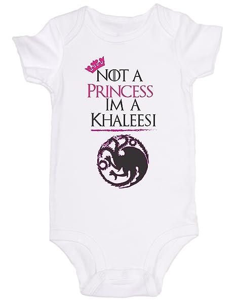 bce54377ed Amazon.com: Not a Princess Im a Khaleesi Game of Thrones/Cute Baby ...