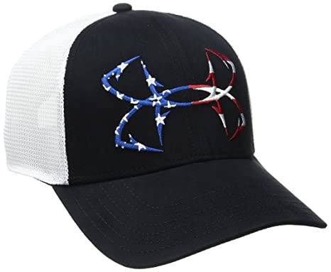 45bd84b0504 Amazon.com   Under Armour Men s Fish Hook Big Logo Mesh Cap