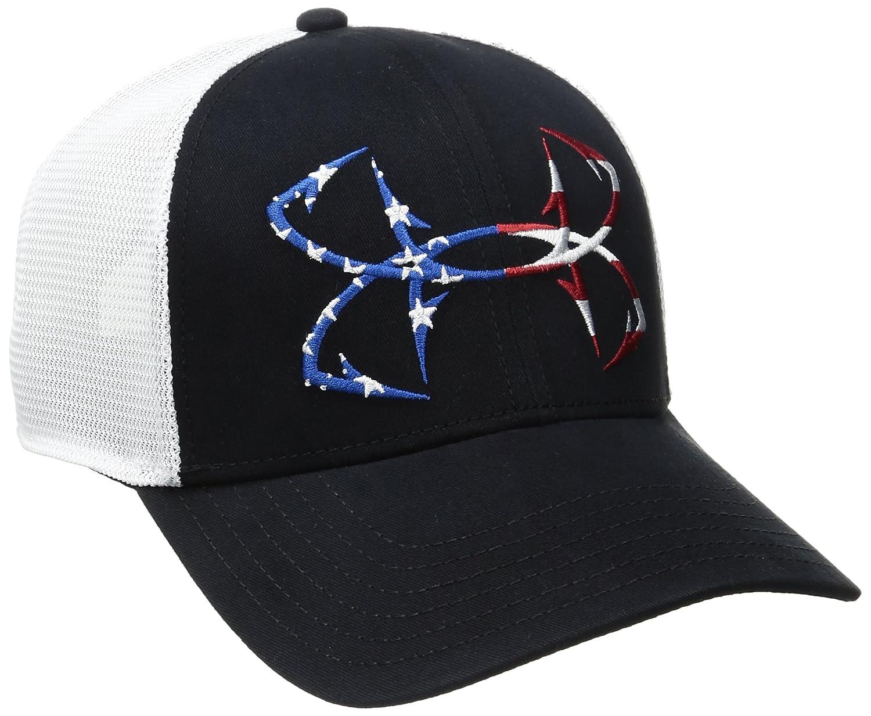 Under Armour Men s Fish Hook Big Logo Mesh Cap